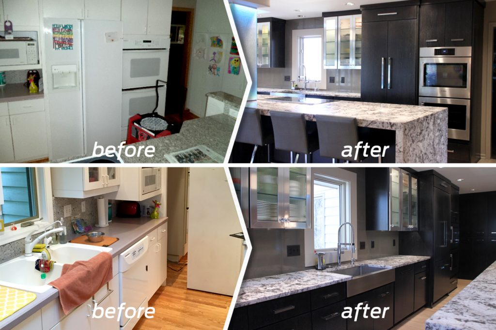 Remodel Before and After